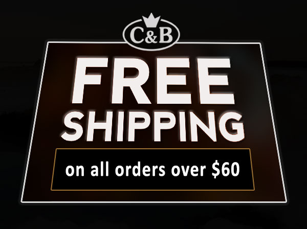 free shipping ovrer $60 orders